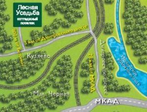 Коттеджный поселок Лесная усадьба